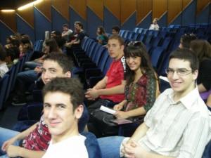 Music students in Podgorica, Montenegro