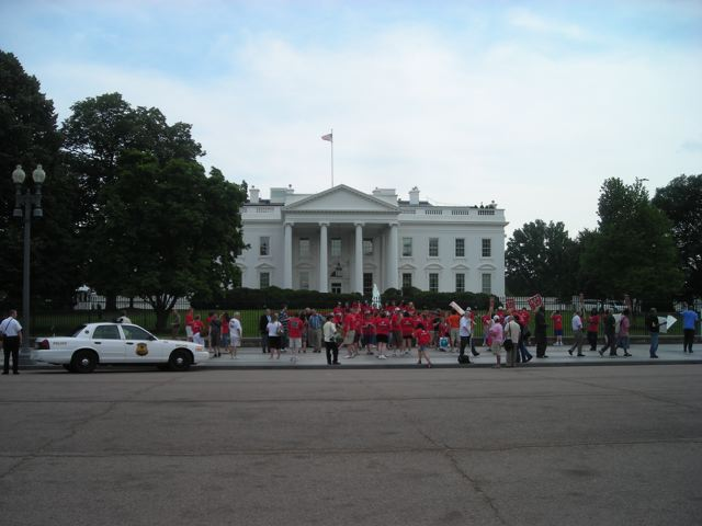The People's House on June 15, 2009