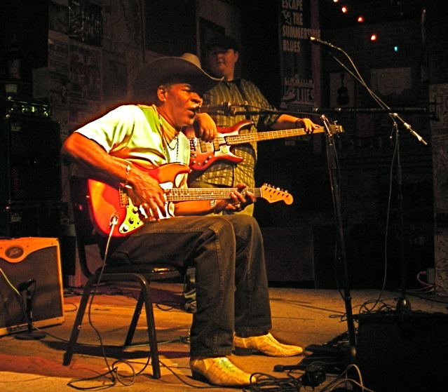 Bill Perry performs at Ground Zero, Clarksdale, Mississippi