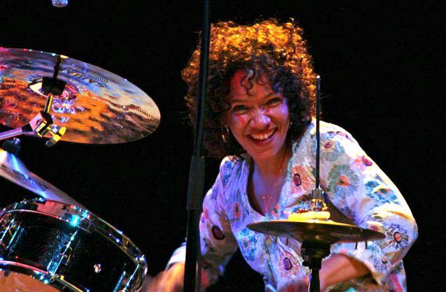 LaFrae Sci, drummer soul sister beyond belief