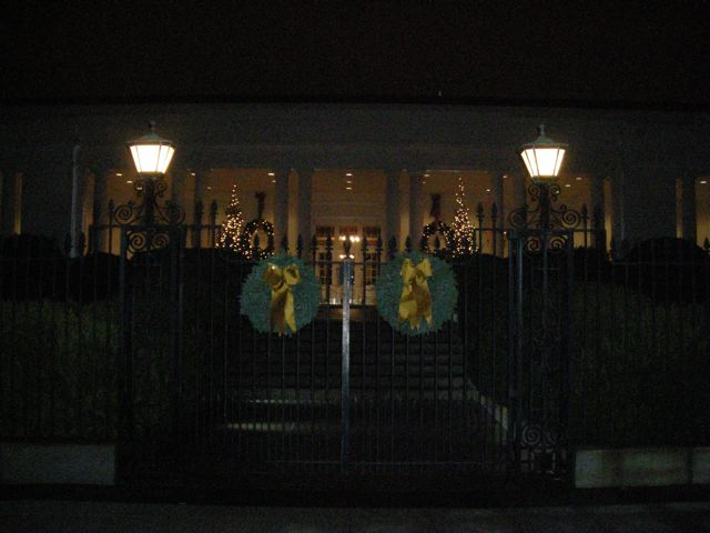 The East Wing of the White House, December 2009