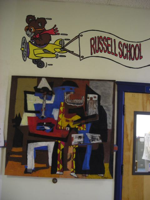 Musicians at Russell School