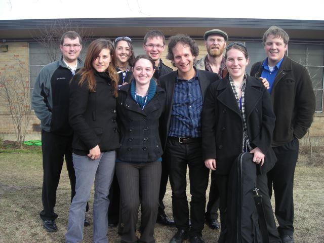 Eli, musicians and crew!