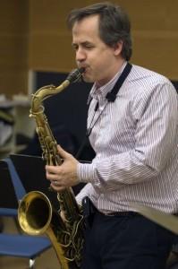 Saxophonist Chris Byars