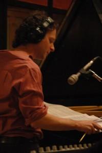 The composer Eli Yamin