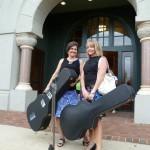 Teachers arrive at Riley Center, Meridian, Mississippi