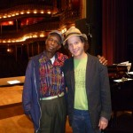 LC Ulmer and Eli Yamin at the Riley Center