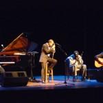 Eli Yamin and Evan Christopher jam with Cadillac Bill and John at Riley Center