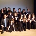 Eli and Charenee Wade with cast from Jazz Drama Workshop in Moscow, Idaho