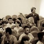 Eli Yamin Blues Band workshop in Abakan, Siberia