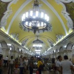 Moscow Metro Underground
