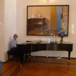 Eli Yamin at Spaso House, Moscow, Russia