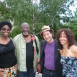Eli Yamin Blues Band with Inyang Bassey, Bob Stewart, Eli Yamin, LaFrae Sci