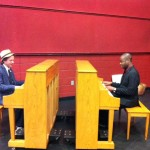 Eli Yamin and Damien Sneed at Mesa Arts Center, Arizona