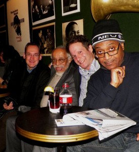 Court of Barry Harris with Michael Weiss, Barry Harris, Eli Yamin and Lafayette Harris Jr. at Village Vanguard, NYC