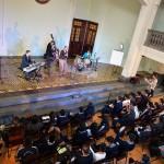 Quartet performs.