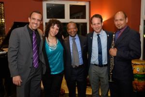 Eli Yamin Quartet with U.S. Ambassador Todd Robinson