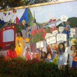 Mural at La Alianza