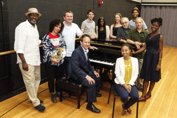 Participants at The Jazz Drama Program's Summer Jazz Arts Institute at Lehman College, City University of New York (photo by Ayano Hisa)