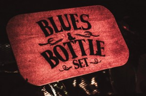 Blues and Bottle Sign