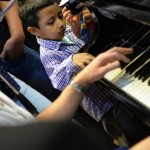 Youngest student at National Conservatory