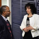 US Ambassador Todd Robinson and LaFrae Sci