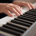 Eli's piano hands.