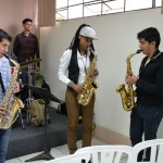 Lakecia works with saxophonists at Innato